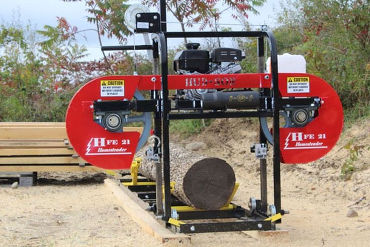 Details about 2019 HudSon Portable Sawmill HFE 21
