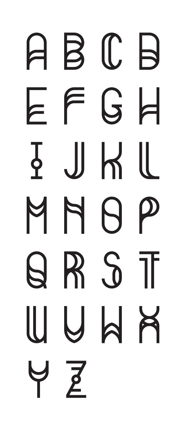 The Quantum - A very stupid free font by Thalassinos Anastasiou, via Behance