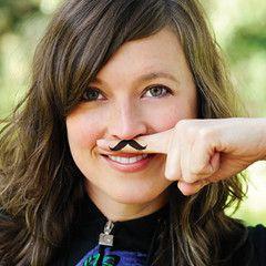 Fingerstache - Mustache Finger Tattoos