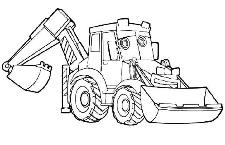 coloring pages and more com | excavator coloring page | Coloring pages, Coloring book ...