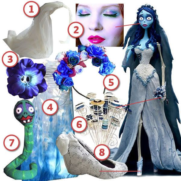 DIY The Look: Corpse Bride · DIY The Look · Cut Out + Keep