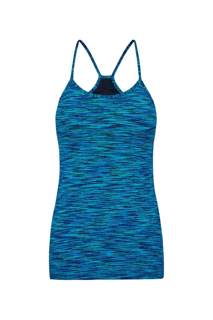 Electric Qi Sports Tank – Dharma Bums Yoga and Activewear