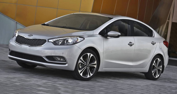 Kia Cerato 2013 side view
