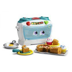 This is the perfect children's toy to equip their culinary and counting skills at the same time. Ideal for children ranging from ages 2-5 years, this oven sings, talks and enhances numerical counting and fraction skills and vocabulary through 30+ songs and phrases.
