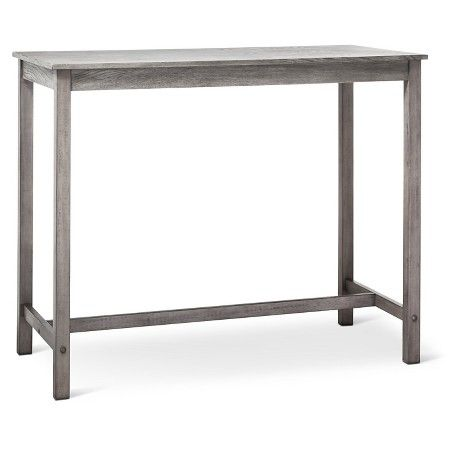 Counter Height Pub Table - Gray Wash - Threshold™ : Target 22 inches W x 44 inches D
