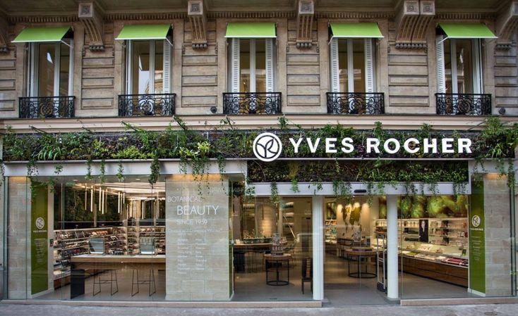 Concept store Yves Rocher, l'ode au végétal