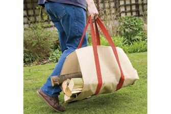 Log carrier - a less mucky way to carry logs. £10.99