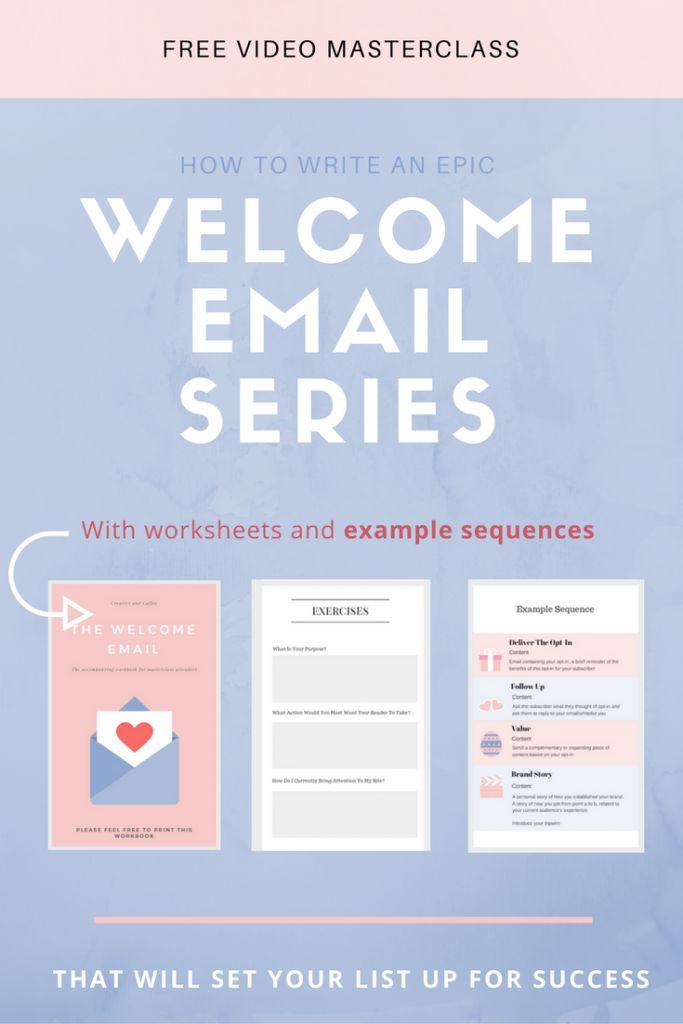 Why are welcome emails so important? And how can you write a welcome email series that your new subscribers will open and love via /creativencoffee/