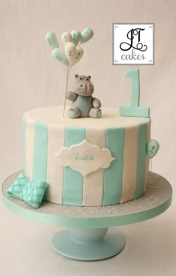 Baby Hippo Cake