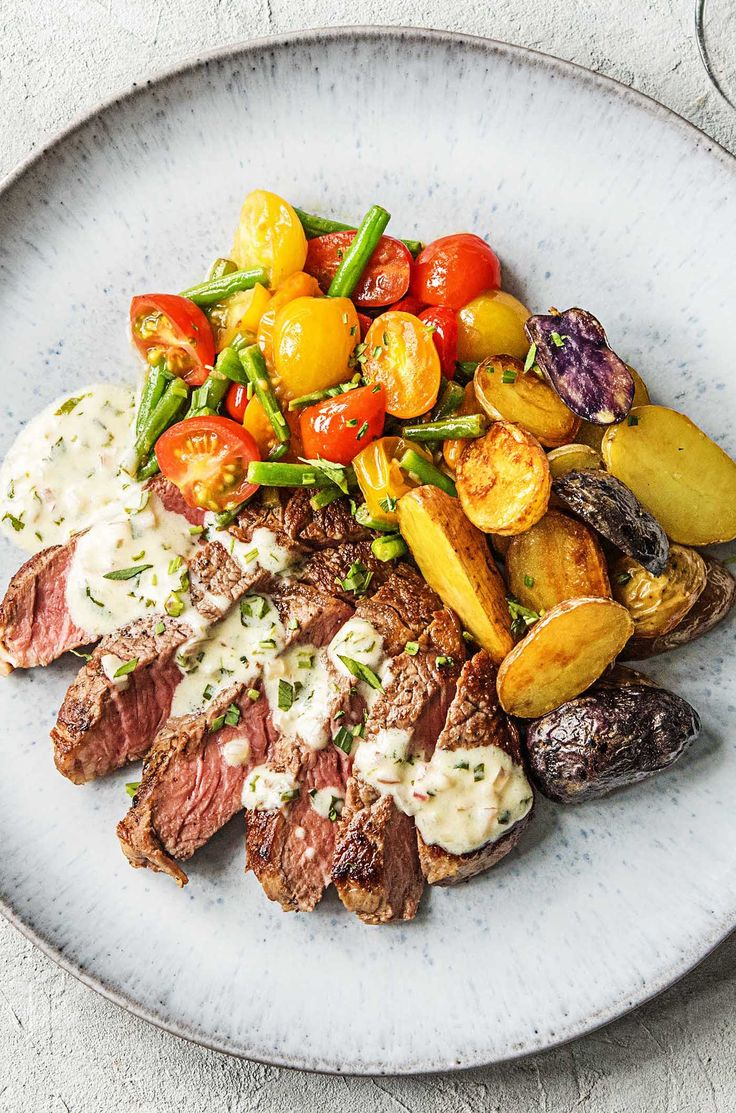 Easy steak recipe with a bernaise sauce | More luxury meals