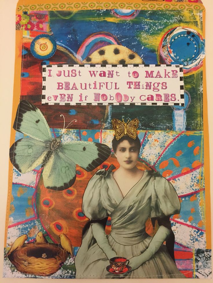 Mail Art by Kim Collister