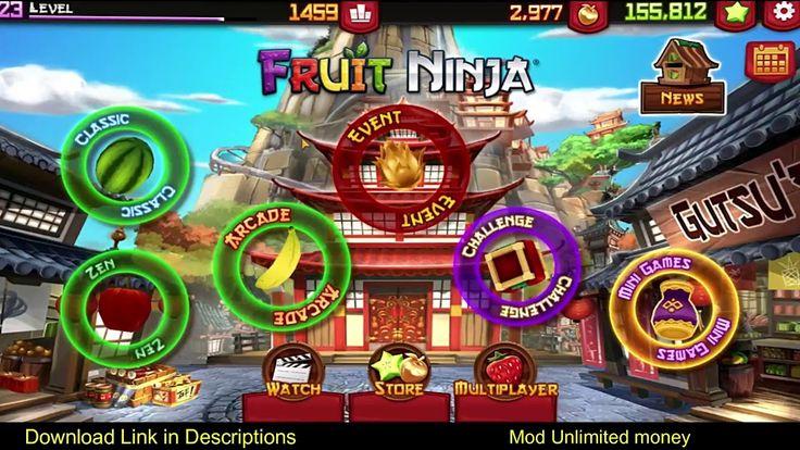 Fruit ninja mod apk 285 unlimited money in 2020 with