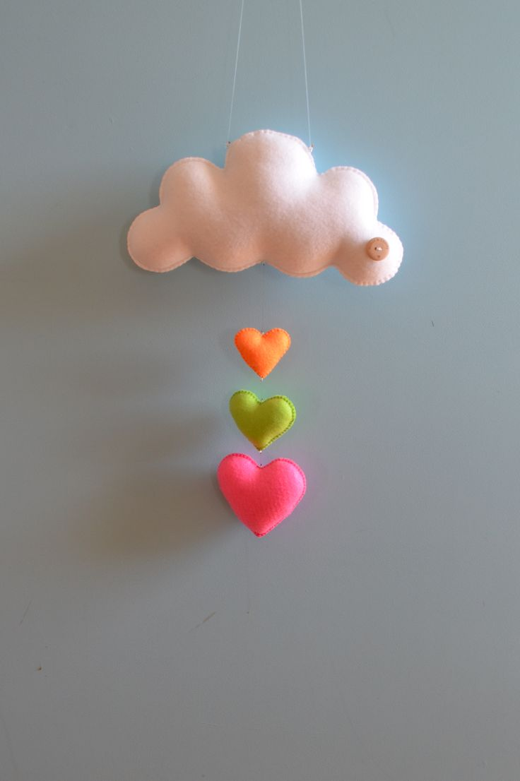 Neon cloud love by Down that little lane # Cloud # Nuage # Diy