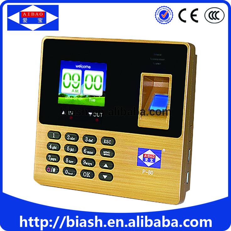 portable fingerprint time attendance system machine/biometric time attendance machine