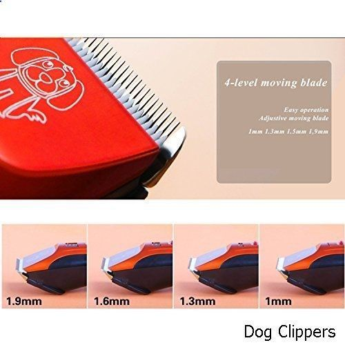 Dog Clippers - Dog Hair Clippers Low Noise Cordless Rechargeable Pet Hair trimmer, Pet Grooming Clipper,Professional Heavy Duty Pet Grooming Clippers for Thick Hair Dogs, Cats and Horses #DogClippers #HairClippers
