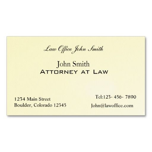 Attorney at law office business card template lawyer for Law business cards