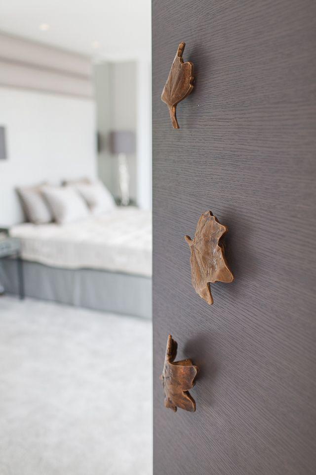 Stephenson Wright Project | Ironmongery | Bronze leaves | Interior Design