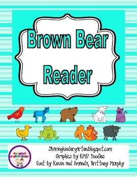 Brown Bear Reader and Sequencing Cards