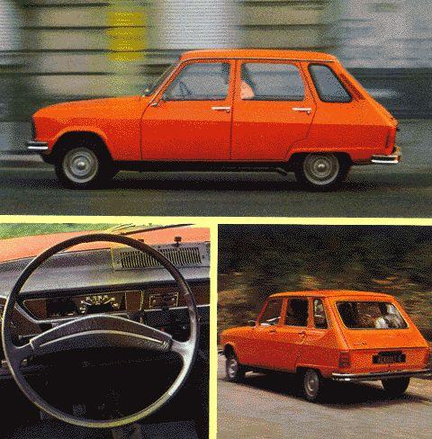 Les années 70 se retrouvent dans le nuancier Renault de l'époque, avec une couleur Orange très Flower Power.