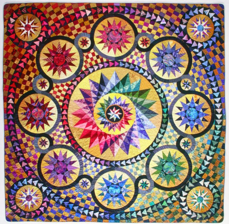 Best of Show at Pacific International Quilt Festival in 1999! Celebrate our 25th year with us October 13-16, 2016