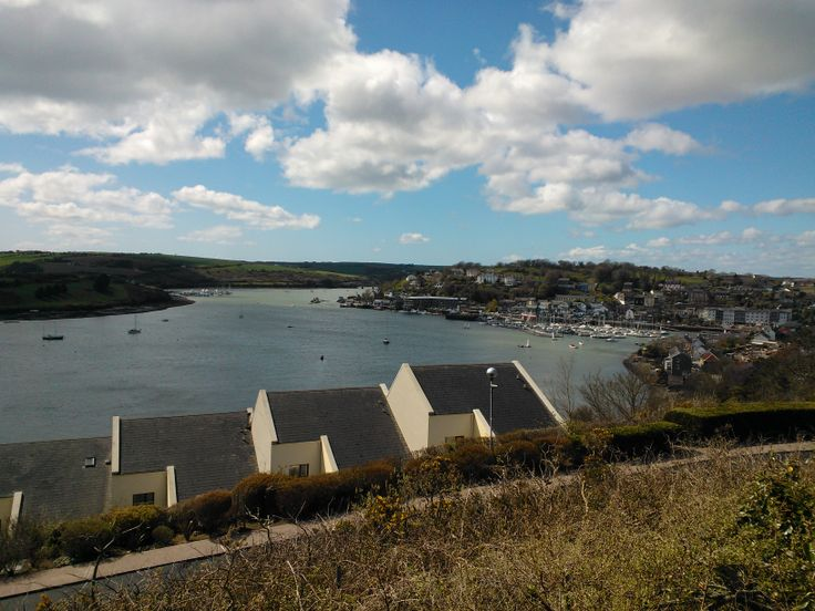 Overlooking the harbour, Kinsale.