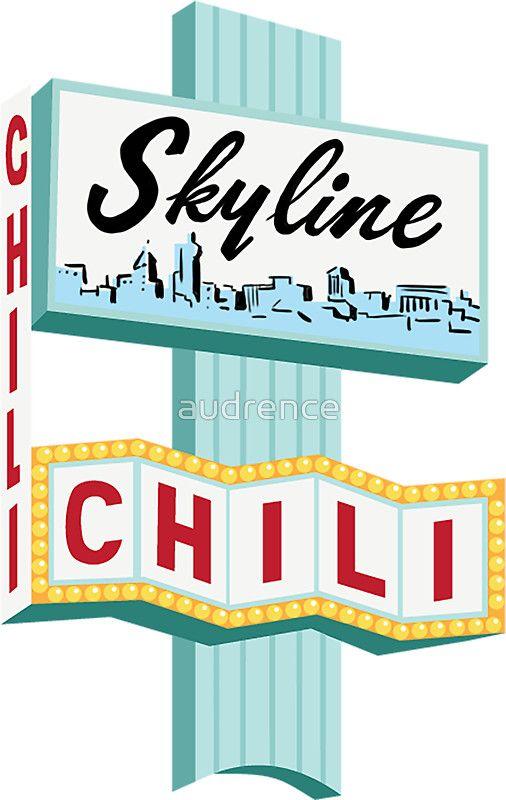 Cincinnati Skyline Chili Ludlow Ave Sign