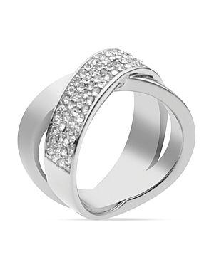 Michael Kors Pave Criss Cross Band Ring