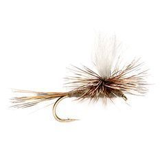 Top 10 flies, along with instructions for tying them. Includes the elk hair caddis, PMD, midges, woolly buggers and more. The author recommends a parachute adams whenever you don't know what dry fly to fish.