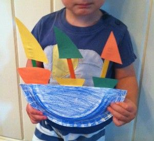 Christopher Columbus - Ship Craft for Kids EASY & So Adorable! Your kids will love this very easy to assemble craft activity.