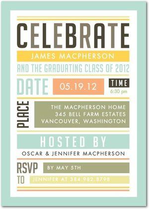 60 best Graduation Invitation ideas images on Pinterest Graduation