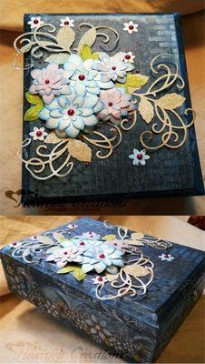 Heartfelt Creations | Swirled Pearl Fleur Gift Box