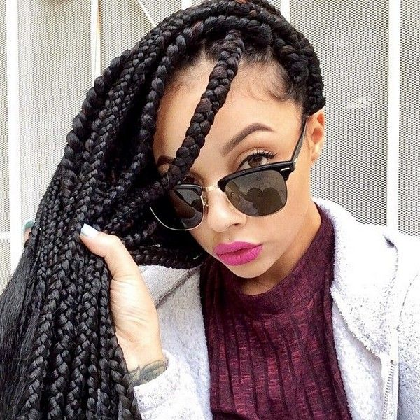 different hair styles for 42 best images about jumbo box braids on big 7477
