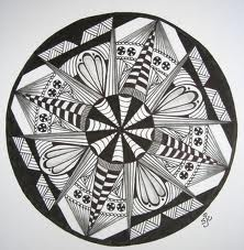 how to draw a kaleidoscope