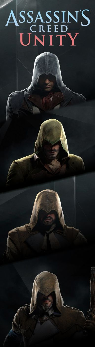 Assassin's Creed Unity - brotherhood banner