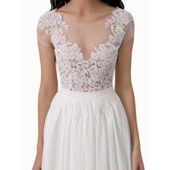 Wedding Dress LORELLE A-Linie Sofortkauf/ Verleih