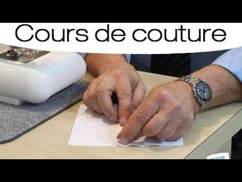 Apprendre à faire une couture rabattue - YouTube