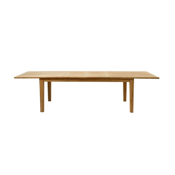 De Beacon Hill tafel van Rivièra Maison is een topper! Deze stijlvolle tafel van sterk hout is namelijk uitbreidbaar. Ben je met het gezin? Laat je 'm ingeklapt. Komt er bezoek? In een handomdraai past je hele familie of vriendengroep aan tafel!