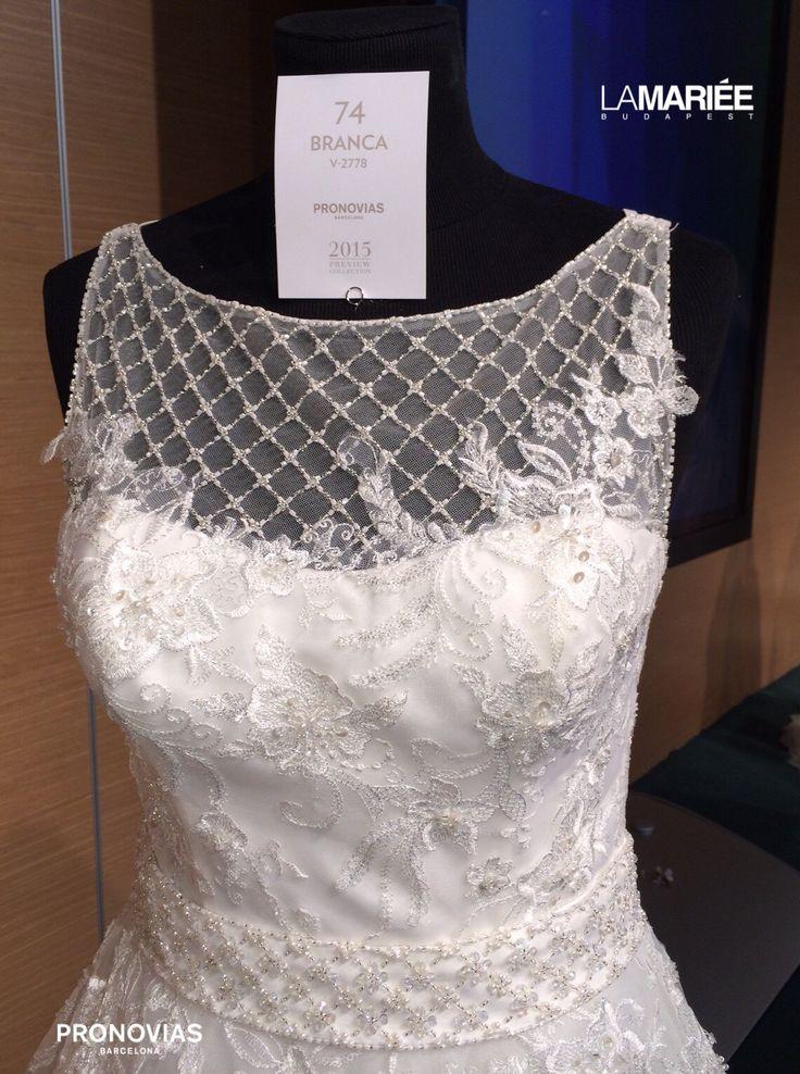 Branca esküvői ruha Pronovias kollekció