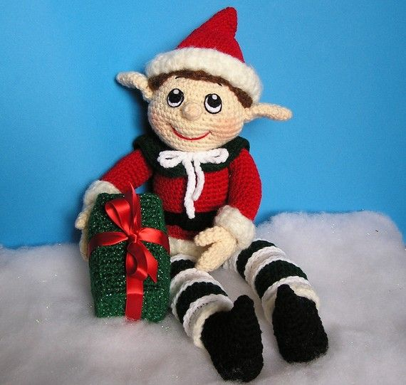 Nevermind, LOVE the face on this one!!!!  NYM THE ELF Pdf Crochet Pattern by bvoe668 on Etsy, $6.00