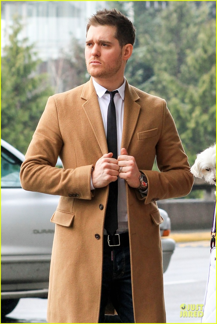 Mens jacket camel - Bublel Camel Coat Skinny Tie
