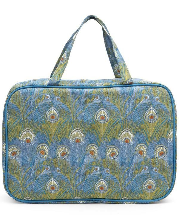 For toiletries that travel with flair, this Liberty Print wash bag is a pick dressed to impress.