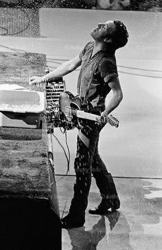 Rosemont, Illinois USA September 8, 1981 Bruce Springsteen and the E Street Band perform