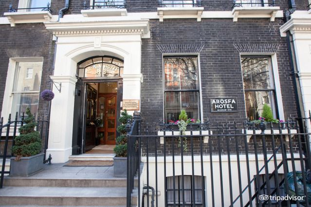 (PHOTO: Arosfa Hotel/Tripadvisor)  Best cheap hotels in London (according to Tripadvisor):  Arosfa Hotel. Bloomsbury (Once the home of famous Pre-Raphaelite artist Sir John Everett Millais, Arosfa is now a family run B&B in the heart of central London. Within walking distance of some of the capital's major landmarks, the Arosfa offers good quality accommodation at a great price. Visit their website for more information: arosfalondon.com. Prices from £122.)