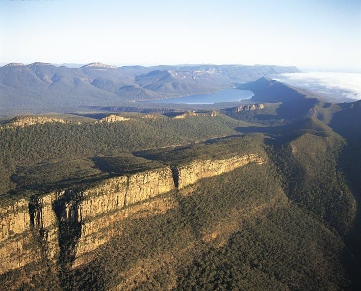 View over Grampians National Park