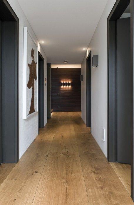 Solid wooden flooring - hall - HeartOak by Dinesen