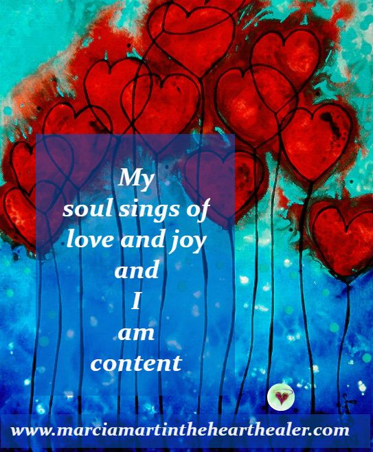 My soul sings of love and joy and I am content. Soul, Love, Joy, Gratitude, Awakening,Quotes, Enlightenment, Spirituality
