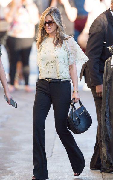 Деловой стиль: Дженнифер Энистон в Лос-Анджелесе - Woman's Day