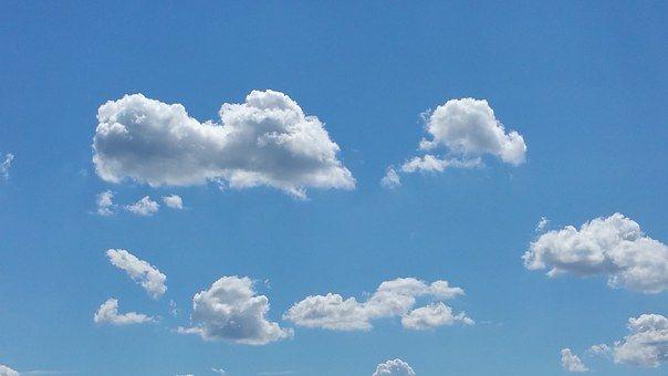 Chmury, Niebo, Wolności, Niebieski