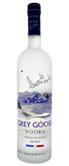 """""""Grey Goose is my friend, I have a friend in Grey Goose..."""""""