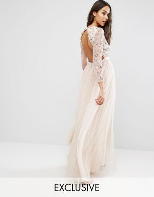 Needle & Thread Ditsy Scatter Tulle Gown   This is perfection! I can picture it now!